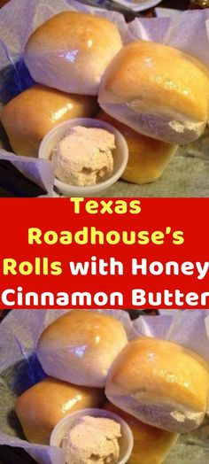 Texas Roadhouse's Rolls with Honey Cinnamon Butter Ingredients 2 cups milk 3 Tablespoons butter 1 Tablespoon active dry yeast 1/2 cup warm water 1/2 cup sugar, divided 1/2 cup honey 7 1/2 cups flour (up to 1/2 cup more or less), divided 2 eggs 2