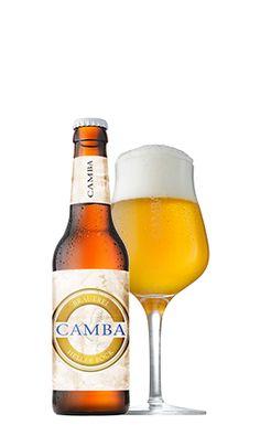 Camba Heller Bock in Glas und Flasche
