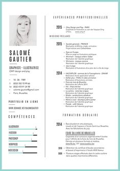 Curiculum vitae - portfolio on Behance If you like this design. Check others on my CV template board :) Thanks for sharing! Resume Design Template, Cv Template, Resume Templates, Design Resume, Conception Cv, Modelo Curriculum, Curiculum Vitae, Cv Web, Cv Inspiration