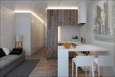 Концепт для маленькой-маленькой квартирки. - Дизайн интерьеров | Идеи вашего дома | Lodgers