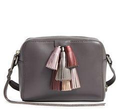 Crushing on this Rebecca Minkoff tassel crossbody bag.