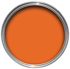 Colours Orange Matt Emulsion Paint 2.5L | Departments | DIY at B&Q