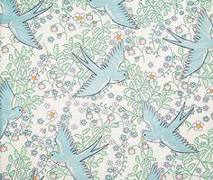 Eijffinger Rice behang vogels en bloemetjes 359020 - Resultaten