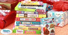Hungry Girl Book Guide: I have a few of her first books (and love them).  Haven't gotten one recently.