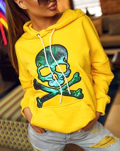 Žltá dámska mikina Hoodies, Sweaters, Fashion, Moda, Sweatshirts, Fashion Styles, Parka, Sweater, Fashion Illustrations