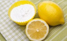 Baking Soda For Acne, Baking Soda And Lemon, Home Made Deodorant Recipes, Home Remedies For Heartburn, Lemon Benefits, Healthy Oils, Cancer Cure, Natural Cleaning Products, Household Products