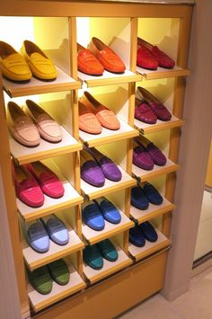 TODS  Loafers in rainbowcolors