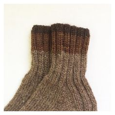https://flic.kr/p/xPhZXs | 210/365: Wool socks. The yarn I used for the larger stripe was hand dyed using black walnuts. #knits #knitting #handknit #handdyed #handmade #sock #woolsocks #poemsaboutmeshop #poemsaboutmeknits #etsy