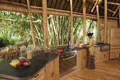 The Green Village in Bali, designed by Ibuku, continues to grow, showing impeccable craftsmanship and visual versatility of bamboo. Bamboo Building, Natural Building, Green Building, Bamboo Architecture, Sustainable Architecture, Architecture Interiors, Architecture Design, Style At Home, Design Case