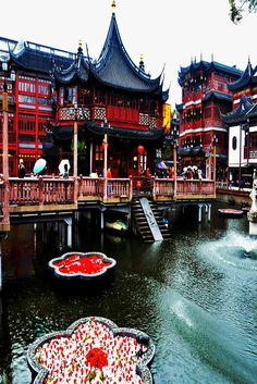 Yu Garden in Shanghai, China.