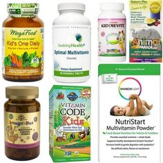 The Healthiest Children's Vitamins: 2020 - The Picky Eater Read on to find out which kids vitamins are the best, what ingredients to avoid, and why. Find the healthiest children's vitamins for your family! Best Vitamins For Kids, Baby Vitamins, Chewable Vitamins, Prenatal Vitamins, Vitamins For Children, Best Multivitamin, Kids Nutrition, Quinoa Nutrition, Nutrition Month
