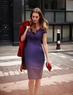 I love this dress for fall! Perfect for work.