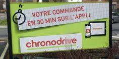 Eh oui! Le drive en un temps chrono, c'est tout simplement Chronodrive! #jetestechronodrive