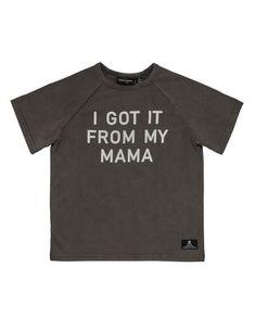 Rock your Kid Mama T Shirt, I Got This, Kids Outfits, How To Get, David Jones, Rock, Kids Clothing, Mens Tops, Range