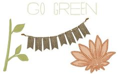 for Earth Day here's a Friday Freebie Digital Embellishments - Click to Download! from Creative Memories