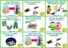 reglas en casa para niños para colorear - Buscar con Google