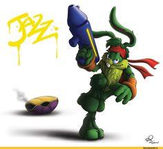Jazz Jackrabbit on EpicGamers - DeviantArt Jack Rabbit, Epic Games, Bowser, Jazz, Mario, Video Games, Deviantart, Classic, Acre