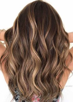 51 Gorgeous Hair Color Worth To Try This Season , Looking for a change in this season? it's time to head to the salon and hit the refresh button. We have rounded up the best 51 Gorgeous Fall Hair Colo. Brown Hair With Blonde Highlights, Brown Hair Balayage, Hair Color Balayage, Ombre Hair, Blonde Color, Blonde Wig, Lowlights For Brown Hair, Brown Highlighted Hair, Brown Hair Dyed Blonde