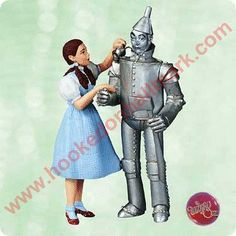 2003 Wizard of Oz Dorothy and Tin Man