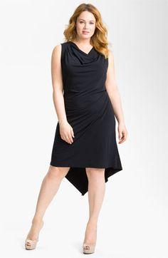 ff07e4ad99 MICHAEL Michael Kors Draped Sleeveless Dress (Plus)