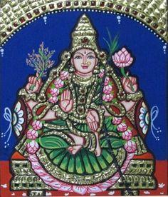 "Dhanya Lakshmi - 7x6"" each - sumarts.biz/"