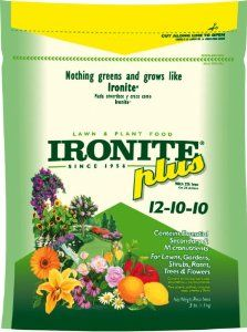 Lilly Miller 436138 3-Pound Ironite Plus 12-10-10 Lawn and Plant Food by Lilly Miller. Save 1 Off!. $10.37. Lilly miller 436138 3-pound ironite plus 12-10-10 lawn and plant food