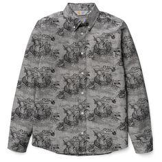 Carhartt WIP L/S Crandall Shirt http://shop.carhartt-wip.com:80/us/men/shirts/longsleeve/I016911/ls-crandall-shirt