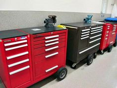 Keep your tools organized in Kennedy Mobile Tool Boxes! These are located in Westborough, MA and will be available for online bidding