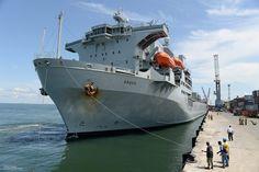 RFA Argus Arriving in Sierra Leone to Help Combat Ebola