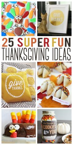 25 Super Fun Thanksg