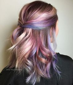 23 Unique Hair Color Ideas for 2018 Are you stuck in a rut with your hair and want to try something new? Then you are in the right place. We have put together 23 unique hair color ideas for The year ahead is full of new colors and cuts that will sty Unique Hairstyles, Pretty Hairstyles, Hairstyle Ideas, Wedding Hairstyles, Hairstyles Men, Summer Hairstyles, Braided Hairstyles, Kids Hair Color, Unique Hair Color