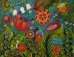 Painting by Catherine Nolin