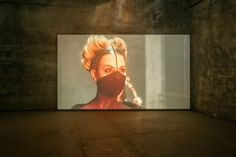 "Installationsansicht ""Silence, Exile, Deceit"" © Douglas Gordon, Ruhrtriennale Douglas Gordon, Deceit, Art Museum, Archive, Animation, Painting, Art, Ghost Stories, Underworld"