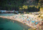 Der Strand der Cala Benirrás