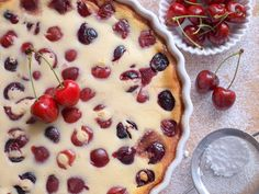 Francouzské recepty Archivy - Avec Plaisir Cherry, Treats, Fruit, Cake, Sweet, Food, Author, Sweet Like Candy, Candy