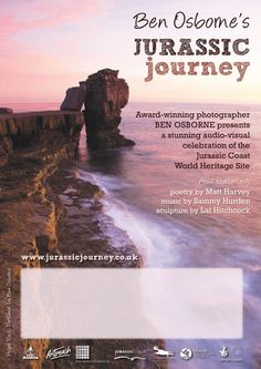 Ben Osborne Jurassic Journey project branding/flyer/poster design