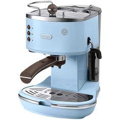 DeLonghi Icona Blue Vintage Coffee Maker - £240. #coffemachine