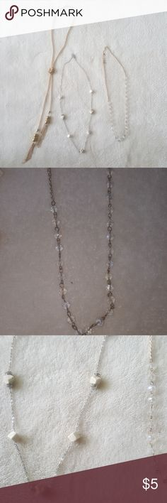 Bundle of necklaces Price is for all 3 Jewelry Necklaces