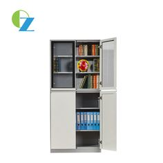 Steel cupboard with glass and metal door Steel Cupboard, Bookcase, Shelves, Metal, Glass, Furniture, Design, Home Decor, Steel Wardrobe