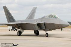 F-22 Raptor by Ken Middleton