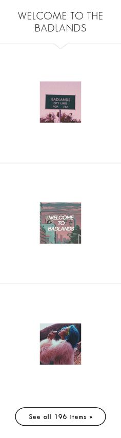 """""""WELCOME TO THE BADLANDS"""" by always-suspect-the-nargles ❤ liked on Polyvore featuring home, home decor, inspirational home decor, wall art, nau, heart sculpture, neon home decor, heart home decor, neon sculpture and aesthetic"""