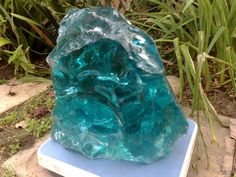 Large blue/green obsidian Minerals And Gemstones, Crystals Minerals, Rocks And Minerals, Stones And Crystals, Gem Stones, Cool Rocks, Beautiful Rocks, Mineral Stone, Rocks And Gems