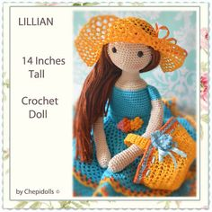 CROCHET DOLL Finished doll ♡ by chepidolls on Etsy