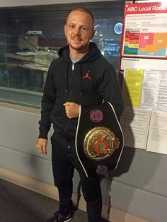 Tasmanian boxing champ Luke Jackson: My daily fight with obsessive compulsive disorder