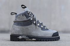 OFF WHITE VIRGIL ABLOH Cordura Hiking Boots 2016 Fall Winter