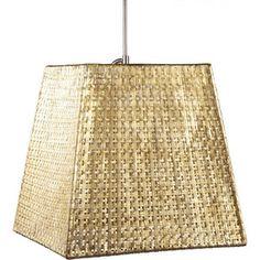 Selamat Designs Selene Square Tapered Pendant Light