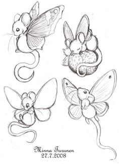 Fairy butterfly mouse