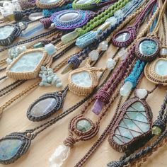 Soooooooooooo many gemstone necklaces with their individual energetic healing abilities...which one is your favorite?