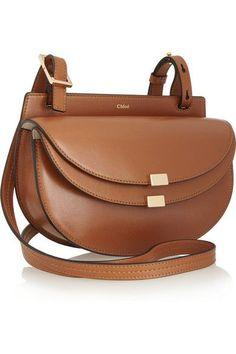 Chloé | Georgia mini leather shoulder bag | http://NET-A-PORTER.COM