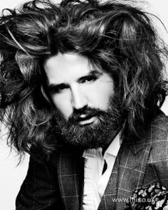 The 7 best Men with Big Hair images on Pinterest | Long hair, Cute ...
